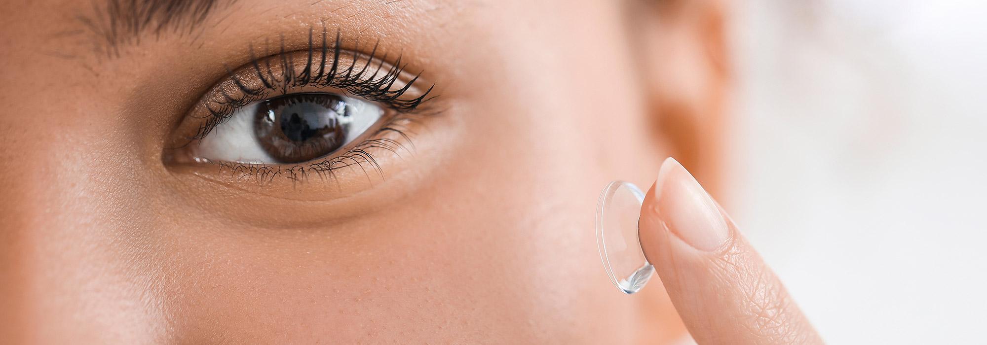Komfortable Kontaktlinsen