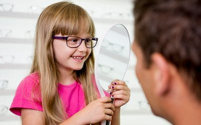 Kurzsichtigkeit mit Kinderbrille eindämmen
