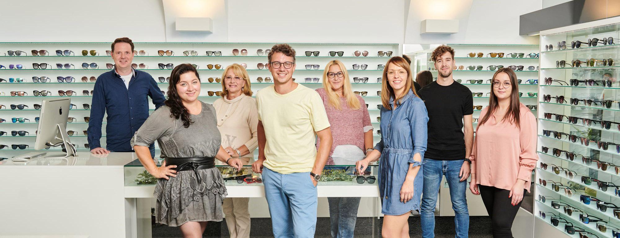 Brillen und Sehhilfen von Optik Brandstätter aus Klagenfurt